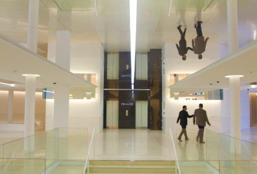 plafond miroir tendu sur mesure haute definition batiment opera victoire